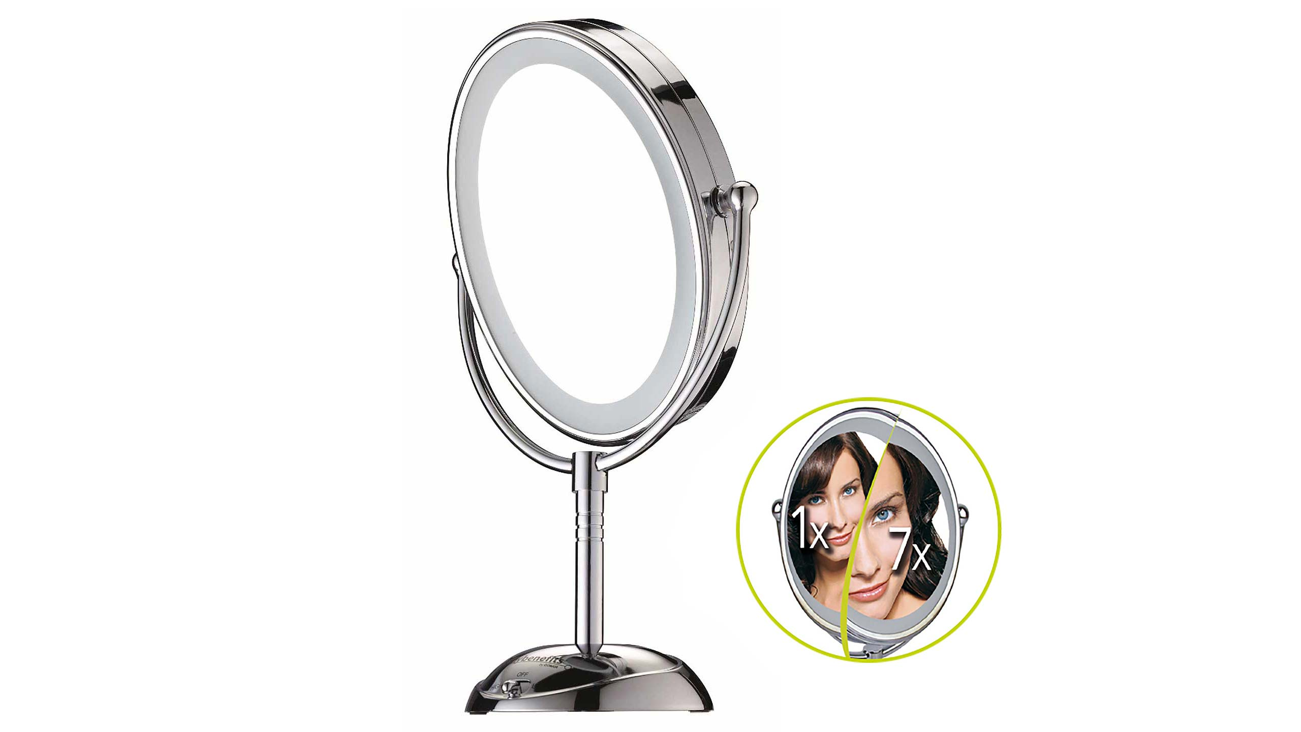 Reflections Led Lighted Mirror